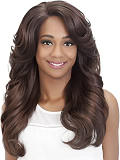 Vivica A Fox Hair Collection Honey New Futura Hair in Color Natural Baby Lace Front Wig, CABERNET, 8.1 Ounce