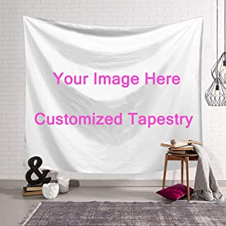 SOIM Custom Tapestry Wall Hanging Tapestry Christmas Wedding Decoration Tapestry-Family Bedroom Decor Blanket Print Your Pictures 40x60(in)