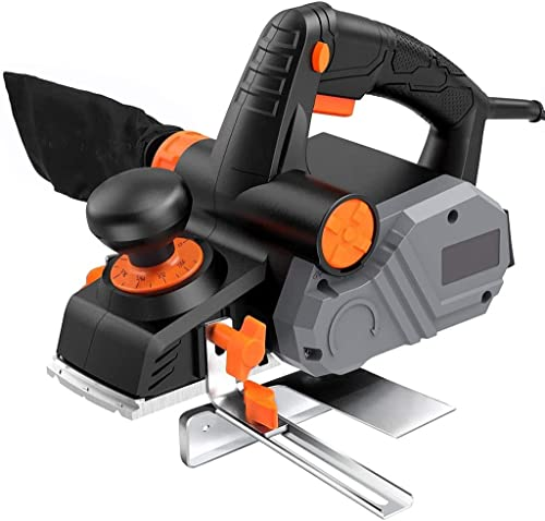 """discount Power Hand Planer, 7.5 Amp 14500Rpm 3-1/4-Inch, with 1/96"""" to 1/8"""" Adjustable Cut Depth, 2-Side popular Blow online sale Chips, Parallel Fence Bracket - EPN02A outlet sale"""