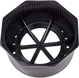 """Trident Hex Rim Plastic 6.9"""" Steel Tank Boot with Drainage Features"""