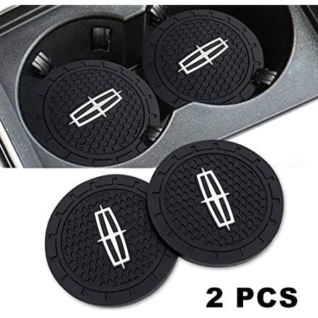 Set of 2, 2.75 Diameter Silicone Anti Slip Cup Mat for Subaru Forester Outback Impreza Legacy Crosstrek Ascent BRZ WRX Kacichi Car Interior Accessories for Subaru Cup Holder Insert Coaster