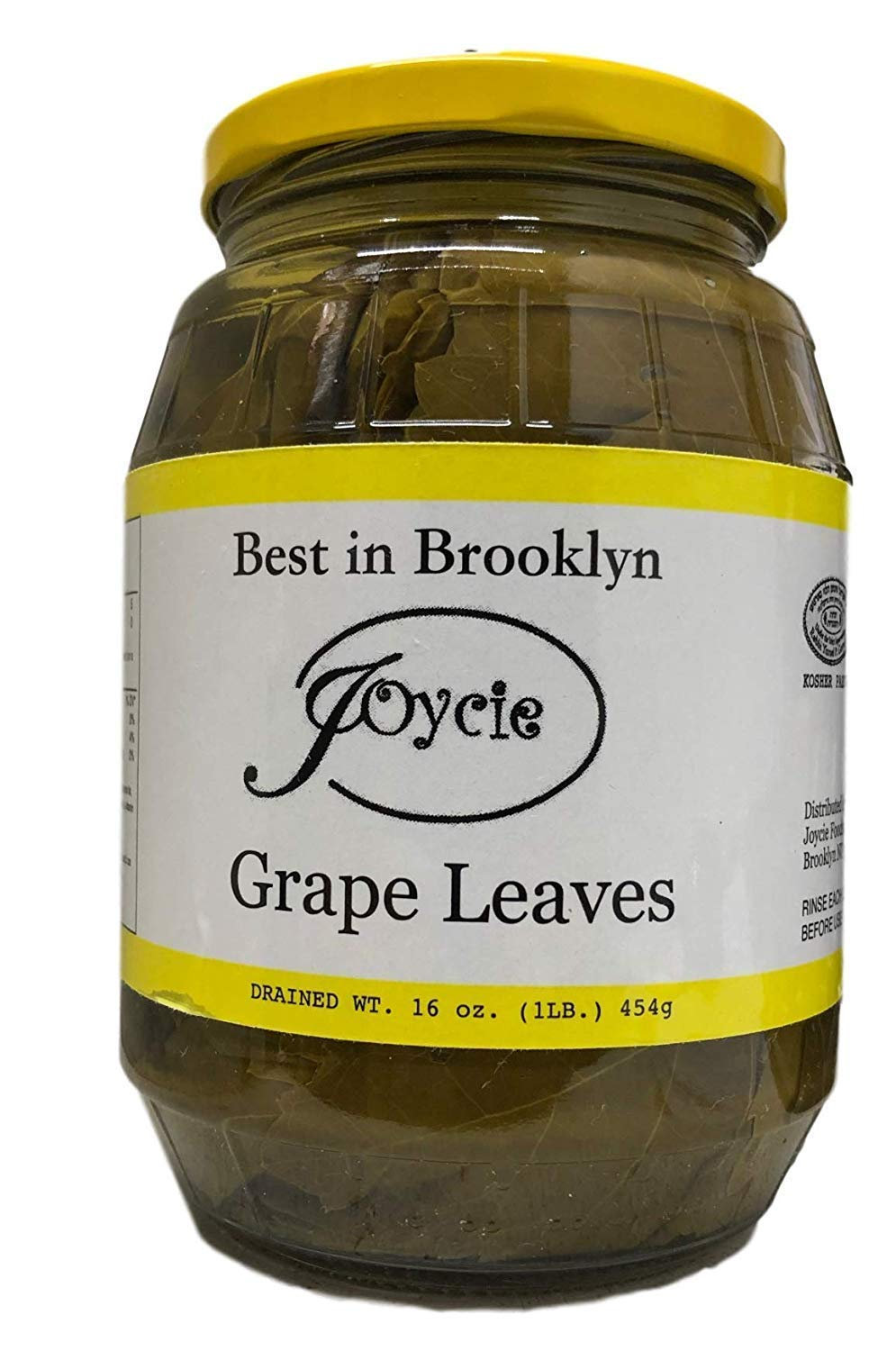 Joycie Best in Brooklyn Grape Directly managed store Leaves Popular brand in the world Pack 6 of 16 oz.