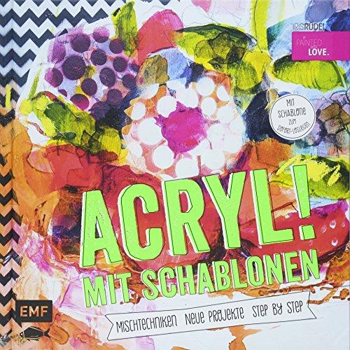 Acryl! Mit Schablonen die Kategorie Malen & Zeichnen>Acrylmalerei