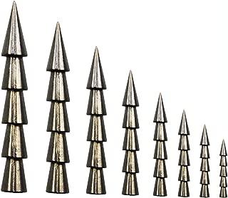 JSHANMEI Tungsten Weights Sinkers Fishing Tackle Pagoda Wacky Nail Sinkers Pencil Worm Insert Fishing Weights