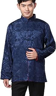 Chinese Traditional Uniform Top Kungfu Shirt for Men