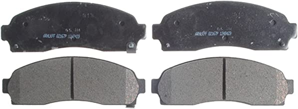 ACDelco 14D913CH Advantage Ceramic Front Disc Brake Pad Set with Hardware