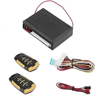 2 Control Remoto Ladr/ón Caliente XZANTE Alarma de Coche de 1 V/ía Universal Sistema de Veh/ículo Sistema de Seguridad de Protecci/ón Sirena de Entrada Sin Llave