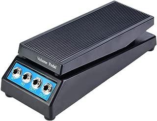 Guitar Pedal,Daphon DF1511A Guitar Stereo Volume Pedal DJ Guitar Effect Pedal Dual Input & Output.