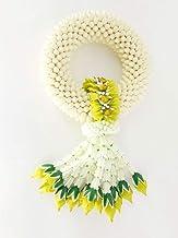 wonderflowers Green 17x30 cm. Artificial Jasmine Flower Phuang Malai Symbol Love Beauty Sensuality Appreciation Good Luck ...