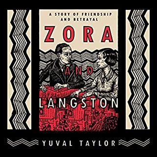 Zora and Langston audiobook cover art