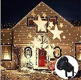 Lightess Christmas Projector Light Star Moving Holiday...