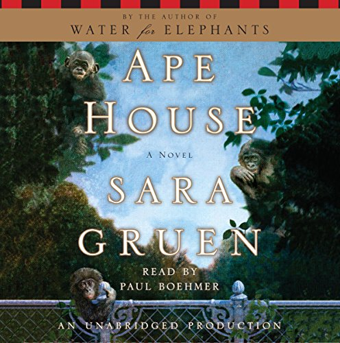 Ape House audiobook cover art