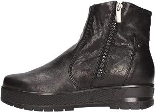 IGIeCO 4169900 Nero Polacchine Donna alla Caviglia Fashion