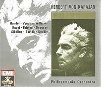 Karajan Edition: Handel, Vaughan Williams, Ravel, Britten, Sibelius, Debussy, Bart?k, Kodaly (4CD) by Karajan