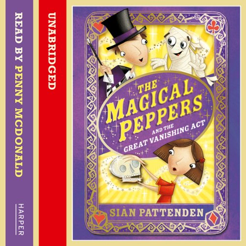 The Magical Peppers and the Great Vanishing Act Titelbild