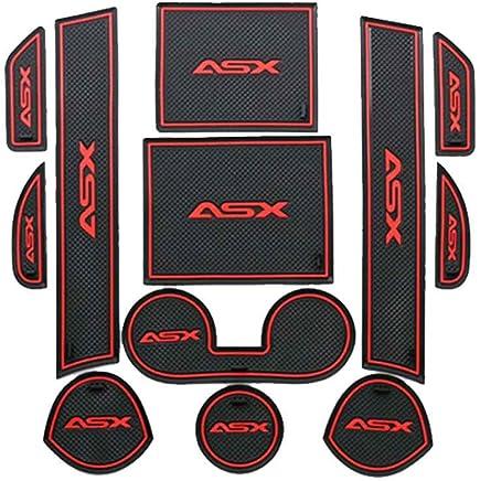 para Mitsubishi ASX 13-15 Anti Slip Puerta Ranura de Acceso Ranura Estera del cojín