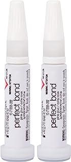 چسب Nailene Perfect Bond Glue 0.07 Oz - 2 بسته - با دوام ، قابل اجرا آسان چسب ناخن کاذب - ترمیم ناخن های طبیعی - چسب ناخن با خشک شدن سریع تا 7 روز طول می کشد - مراقبت از ناخن ضروری است