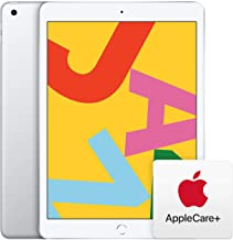 New Apple iPad (10.2-Inch, Wi-Fi, 32GB) - Silver (Latest Model) with AppleCare+ Bundle