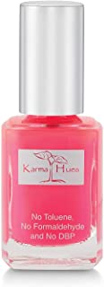 Karma Organic Natural Nail Polish-Non-Toxic Nail Art, Vegan and Cruelty-Free Nail Paint (Purple RAIN)