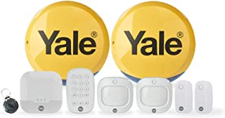 Yale IA-330 Sync Smart Home Alarm, Compatible with Alexa, Google & Philips Hue. 9-piece kit, Self-Monitored, Geofencing, 2...