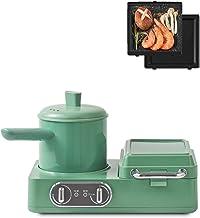 YUMEIGE Elektrische bakvorm Ontbijtmachine, huishoudelijke wafelwafel broodmachine, onafhankelijke temperatuurregeling, au...