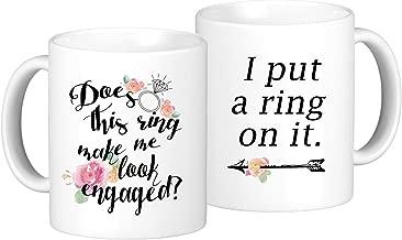 Engagement Coffee Mug Set