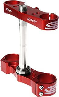 Scar Racing Triple Clamp - Standard offset - Red