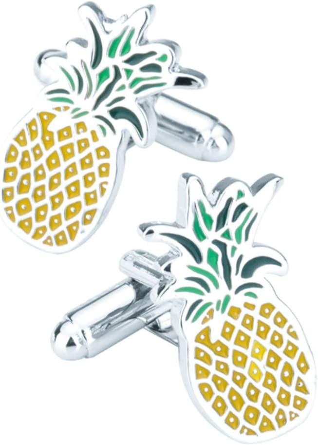 ZNBJJWCP Cufflinks for Mens Shirt Accessories Enamel Cufflink Men Jewelry Wedding Groom Gift