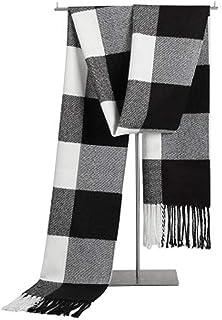 INKARO マフラー メンズ チェック柄 かけ心地抜群 秋冬 防寒 メンズファッション