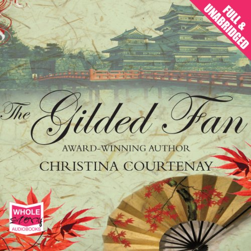 The Gilded Fan audiobook cover art