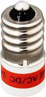 マルヤス電業 MHGシリーズパイロットライト付属LED電球、定格:AC/DC 15V、緑色(ハイブライトエコノミータイプ)、LE12-15G-1