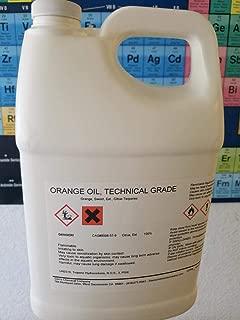 Orange Oil Technical Grade Cold Pressed GALLON