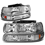 Best Headlights - DNA Motoring HL-OH-CS99-4P-CH-AB Headlight (Driver & Passenger Side) Review