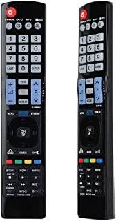 Gvirtue AKB73615309 Remote Control Compatible Replacement for LG TV 47LM6200, 47LM6410, 47LM6700, 47LM7600, 47LM8600, 50PM...