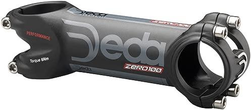 Deda Elementi Zero100 Performance Stem: 130mm +/- 8 Degree Matte Black
