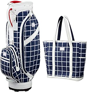 Golf Bag, Two-Piece Handbag, Lightweight and Portable, Waterproof Material, Multi-Color Optional happyL (Color : Blue)