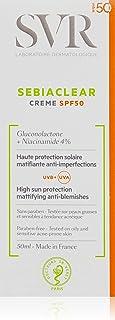 Lohmann Medical SVR Sebiaclear - Crema Matificante SPF-50, 50 ml