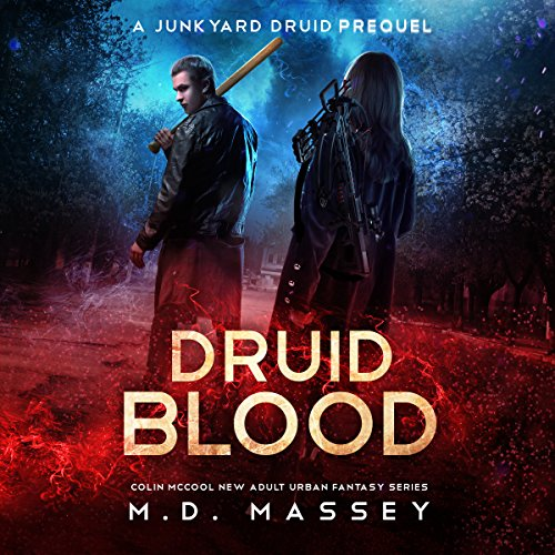 Druid Blood audiobook cover art