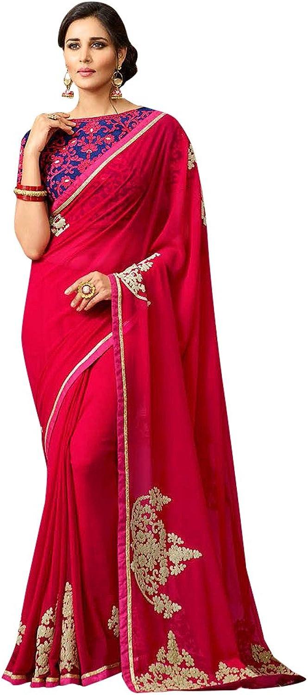 Bridal Saree Sari New Launch Collection Blouse Wedding Ceremony Dress Punjabi gift Sari 31
