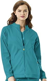WonderWink Size Next Boston Warm Up Women's Plus Scrub Jacket
