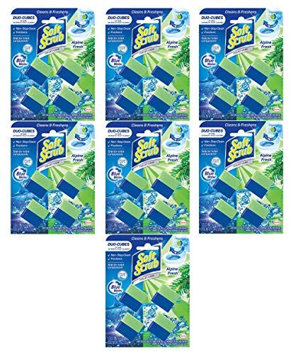 Soft Scrub in-Tank Bathroom Toilet Cleaner Duo-Cubes, Alpine Fresh (28 Duo-Cleaner)