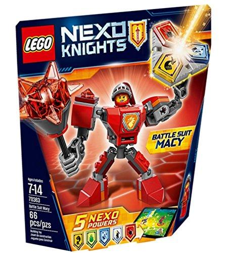 LEGO Nexo Knights - Macy con Armadura de Combate, Juguete de Construcción con MiniFigura (70363)