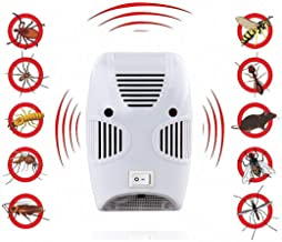 ADTALA Ultrasonic Pest Repeller,Home Pest Control Reject Device Non-Toxic Spider Lizard Mice Repellent Indoor for Mosquito,Ant,Flea,Rats,Roaches,Cockroaches,Fruit Fly,Rodent,Insect Safe for Human