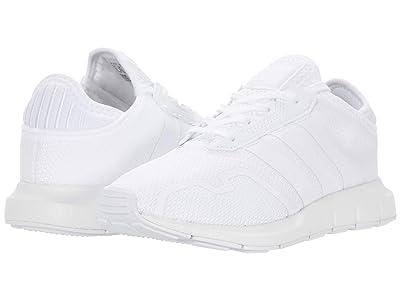 adidas Originals Kids Swift ESS C (Little Kid) (Footwear White/Footwear White/Footwear White) Kids Shoes