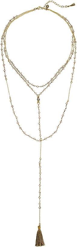SHASHI - Enne Lariat Necklace