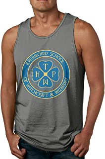 Ilvermorny School of Witchcraft and Wizardry Men's Tank Top Jersey Tank Shirt