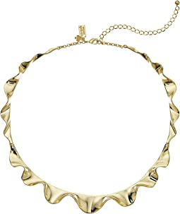 Frilled To Pieces Crew Necklace