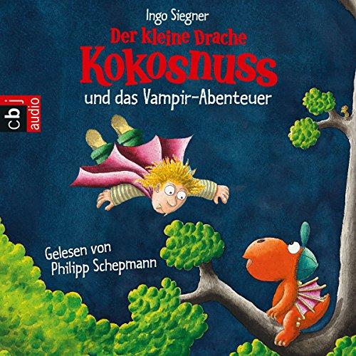 Der kleine Drache Kokosnuss und das Vampir-Abenteuer Titelbild