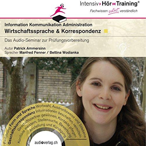 Wirtschaftssprache und Korrespondenz (IntensivHörTraining) audiobook cover art