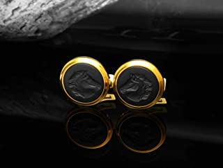 CufflinksFOR MEN GOLD BLACK
